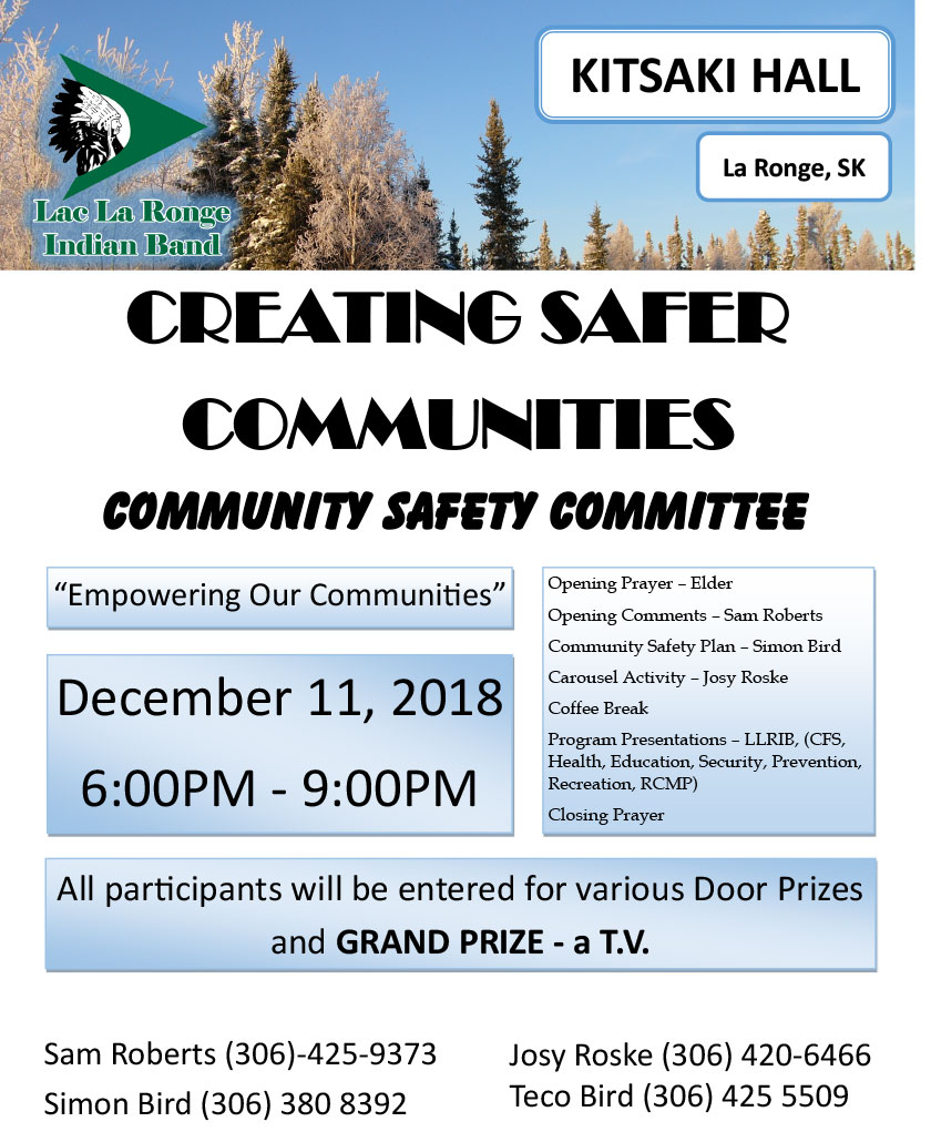 La-Ronge-Safety-Meeting–Dec-11-2018_v4 | The Lac La Ronge